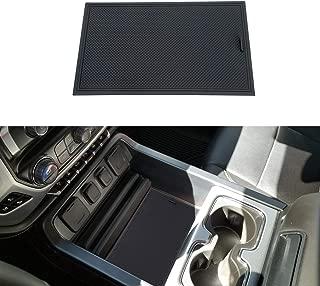 JKCOVER Secret Compartment Cover for 2014 2015 2016 2017 2018 GMC Sierra 1500 2500HD 3500HD Denali Chevy Silverado Hidden Center Console Organizer Tray Accessories