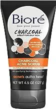 Bioré Charcoal Acne Scrub for Oily Skin (4.5oz)