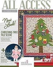 Anita Goodesign All Access VIP Club October 2019 Embroidery Design CD & Book