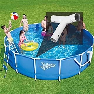 SUMMER WAVES T-fitting for 15ft Metal Frame Round Pools