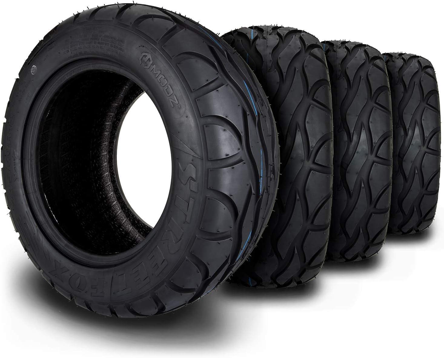 MODZ Street Fox 245 50-12 Radial Golf of Max 55% OFF Four Tire unisex Cart Set -