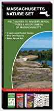 Massachusetts Nature Set: Field Guides to Wildlife, Birds, Trees & Wildflowers of Massachusetts