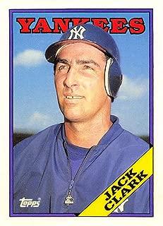 1988 Topps Traded #28T Jack Clark NM-MT Yankees