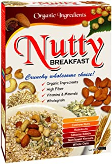Radiant Breakfast Organic 400g (628MART) (Nutty, 12 Count)