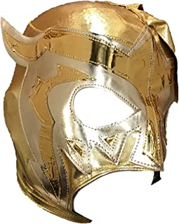ESCORPION Lycra PRO Adult Lucha Libre Wrestling Mask (pro-Lycra) Gold