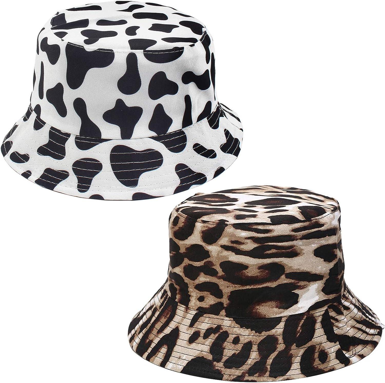 XYIYI 2Pcs Cute Bucket Hat Funny Beach Fishing Hats for Women, R