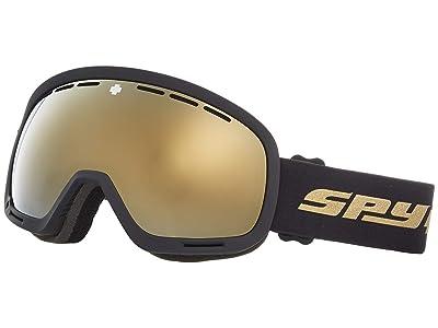 Spy Optic Marshall (25Th Anniv Black Gold Hd Plus Bronze w/ Gold Spectra Mirror +) Snow Goggles