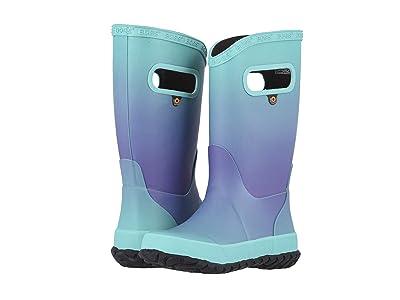 Bogs Kids Rain Boots Ombre (Toddler/Little Kid/Big Kid) (Aqua Multi) Girls Shoes