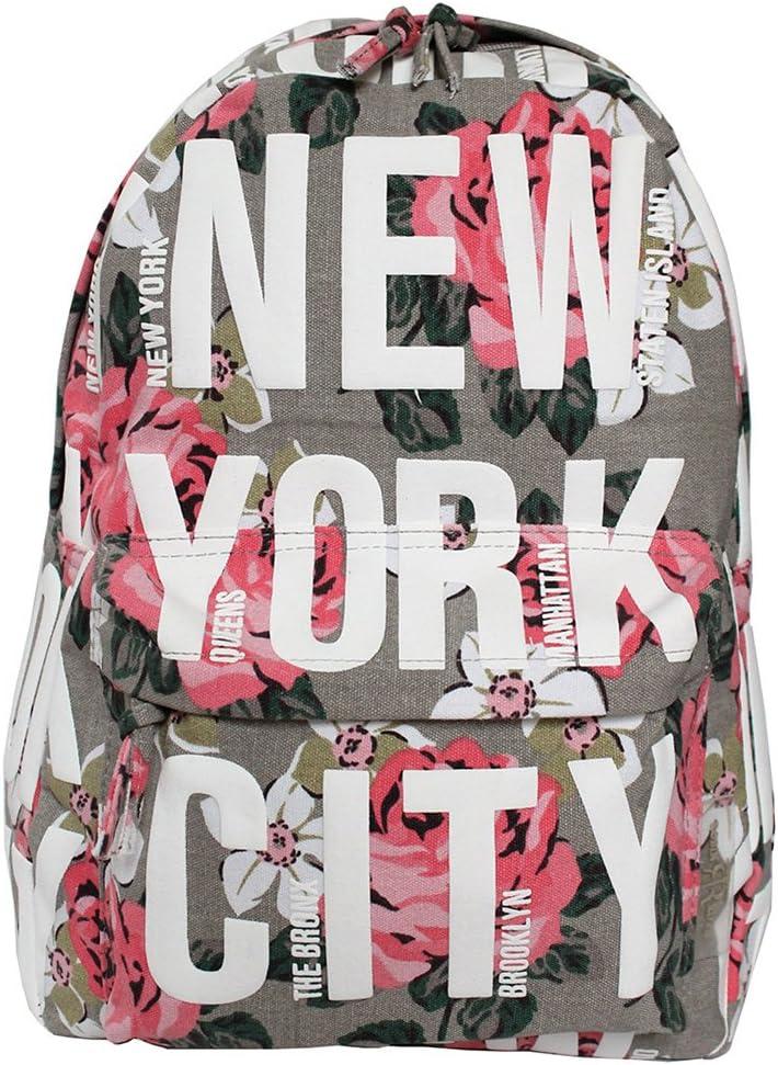 Robin Ruth Canvas Umh/ängetaschen Schultertaschen NEW YORK USA Kollektion Auswahl Sport Usa Flag Vintage 35x28x11 cm