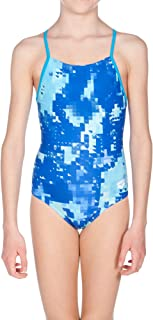 arena Girls Challenge Back One Piece Swimsuit