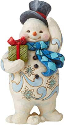 LUCKY THE SNOWMAN 2019 Snow Village Dept 56 New in Box 6003175 SHIPS FREE