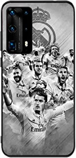 Okteq Back cover Compatible with Huawei P40 Pro - real madrid team By Okteq