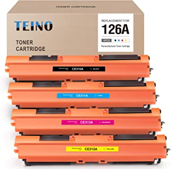 SuppliesOutlet Compatible Toner Cartridge Replacement for HP 126A CE311A Cyan,1 Pack