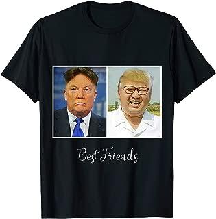 Cute Kim Jong Un And Trump Face Swap T-Shirt