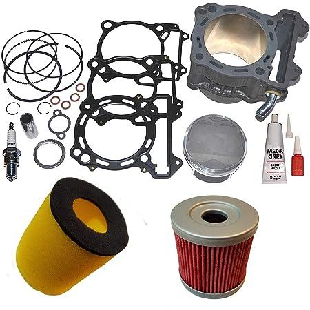 Exhaust Head Header Pipe fit 2003-2010 09 08 Suzuki LT-Z400 LTZ400 KFX400 DVX400
