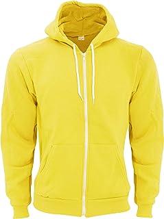 American Apparel Adults Unisex Flex Plain Full Zip Fleece Hoodie