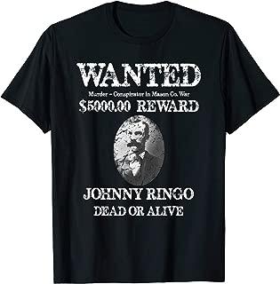 OutLaw Johnny Ringo T Shirt