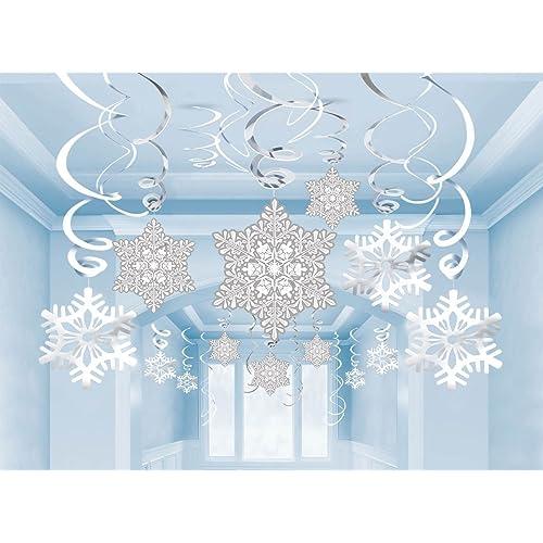 Winter Themed Christmas Decorations: Winter Wonderland Party Decorations: Amazon.com