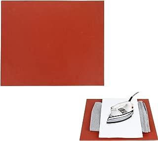 "RUSPEPA 12"" ×15"" Silicone Pad, Flat Heat Press Replacement(Red)"