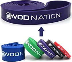 WOD Nation Pull Up Assistance Band - Best for Pullup Assist, Chin Ups, Resistance Bands Exercise, Stretch, Mobility Work &...