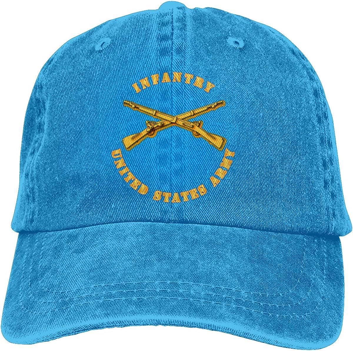 Army Infantry Adjustable Baseball Caps Denim Hats Cowboy Sport Outdoor