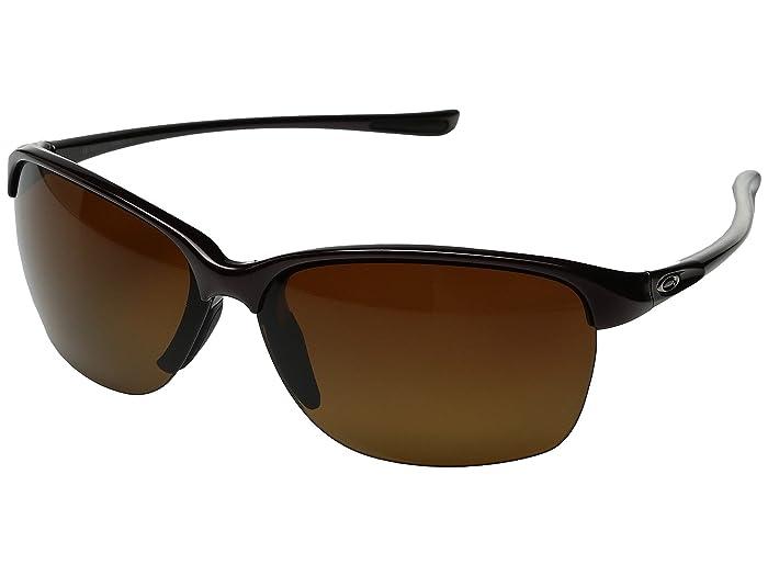 Oakley Unstoppable (Raspberry Spritzer/Brown Gradient Polarized) Fashion Sunglasses
