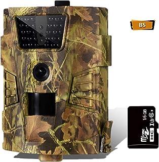 CAMVILD Trail Camera 16MP 1080P Ultralight Hunting Game...