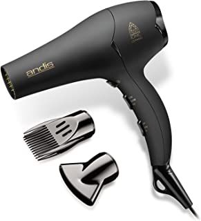 Andis 1875-Watt Tourmaline Ceramic Ionic Hair Dryer, Black (80480)