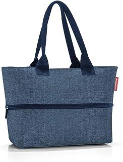 Reisenthel Shopper e1 Großraumtasche aus hochwertigem Polyestergewebe in der Farbe Twist Blue/wasserabweisend