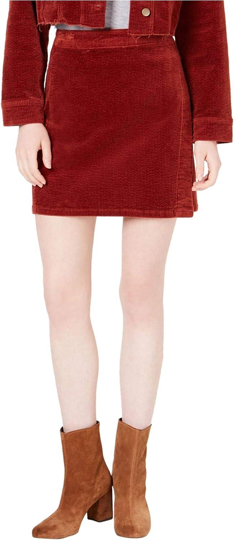 T.D.C. Topson Women's Topson Corduroy Wrap Skirt