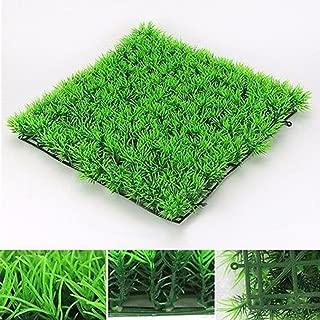 Efaster(TM) Simulation of Aquatic plantsr, Artificial Water Aquatic Green Grass Plant Lawn Aquarium Fish Tank Landscape New