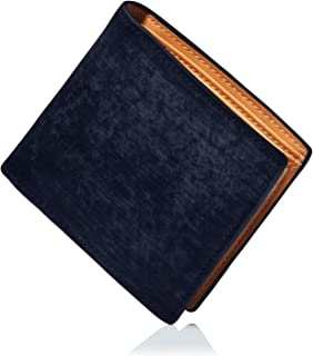 FIGALO (フィガロ) 財布 ブライドルレザー 二つ折り財布 メンズ 小銭入れ付き