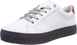 Tommy Hilfiger Women's Glitter Lace-Up Trainers