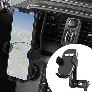 Wicked Chili Dual Lüftungsgitter Handyhalter kompatibel mit iPhone 12 (Pro, Max, Mini), SE 2020, 11 Pro Max, X, 8 Plus, 7 Plus, 6S   für Handy bis 90mm Breite (max. 6.7 Zoll, höhenverstellbar)