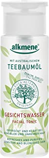 Tea Tree Oil Facial Toner with Witch Hazel Imported from Germany Paraben Free Vegan Facial Toner With Natural Pharmaceutical Grade Tea Tree Oil & Witch Hazel for Acne Prone Skin by Alkmene