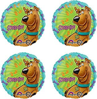 Scooby Doo Party Balloon Bouquet Makes A Great Birthday Decoration Or Inflatable Home Decorations Of Your Favorite Cartoon Dog 2 Balloons Of Scoobydoo Surfing