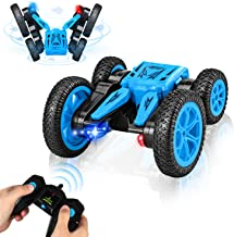 RC Cars Stunt Car Toy, 2.4Ghz Remote Control Car, RC Off Road Cars 360 Degree Flips Double Sided Rotating Vehicles, Kids Toy Cars for Boys & Girls Birthday Gift