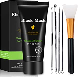 Blackhead Remover Mask 3-in-1 Venus Visage Blackhead Removal Mask, Purifying Peel Off Mask with Blackhead & Pimple Comedon...