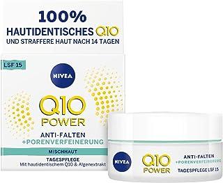 Nivea Q10Power anti-arrugas + la racionalización porenverfeinernde Día Cuidado Para rejuvenecedora crema de día con LSF ...