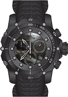 Invicta Men's 52mm Venom Sea Dragon Gen II Black Mother of Pearl Combat Swiss Chronograph Watch