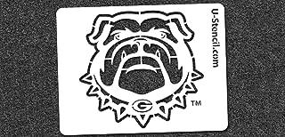 NCAA Georgia Bulldogs 06134 Mini Stencil Craft Kit 11 x 14.5 inches