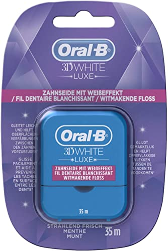 Oral-B - 3DWhite Luxe Blancheur Fil Dentaire- 35m