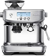Breville The Barista Pro Espresso, Brushed Stainless Steel, BES878BSS
