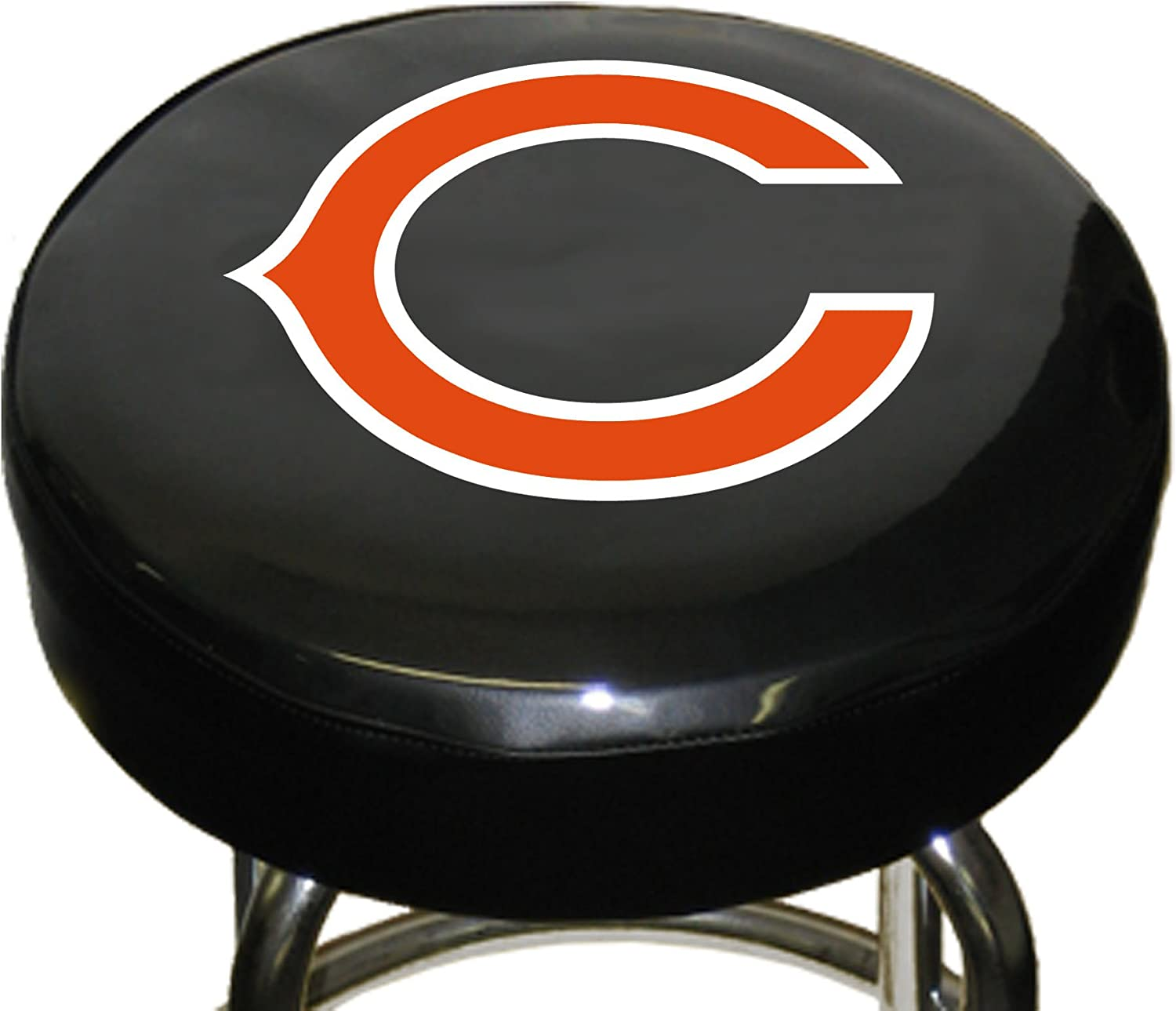 Fremont Die Nfl Chicago Bears Bar Stool Cover 14 5 Diameter 14 5 Diameter 3 5 Thickness Black Team Colors Sports Fan Barstools Sports Outdoors Amazon Com