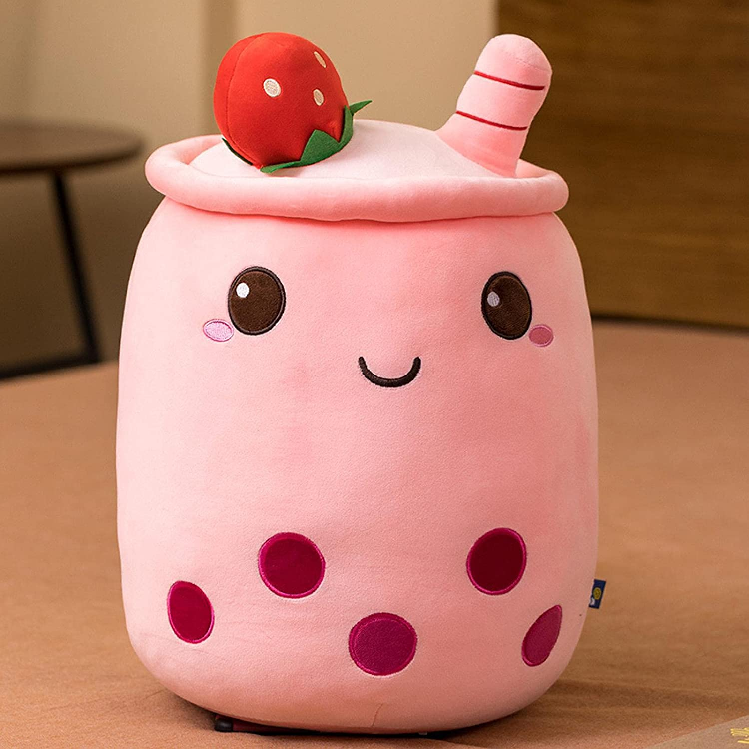 Cartoon Bubble Tea Plush Discount mail order Pillow Figurine Free Shipping New Boba Cup Toy