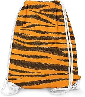 Tigger Stripes Winnie The Pooh Inspired Drawstring Bag - Large (13.3 x 17.3)