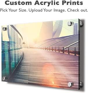 wall26 Personalized Photo to Acrylic Print Wall Art - Custom Your Photo On Acrylic Wall Art - Digitally Printed 16x24