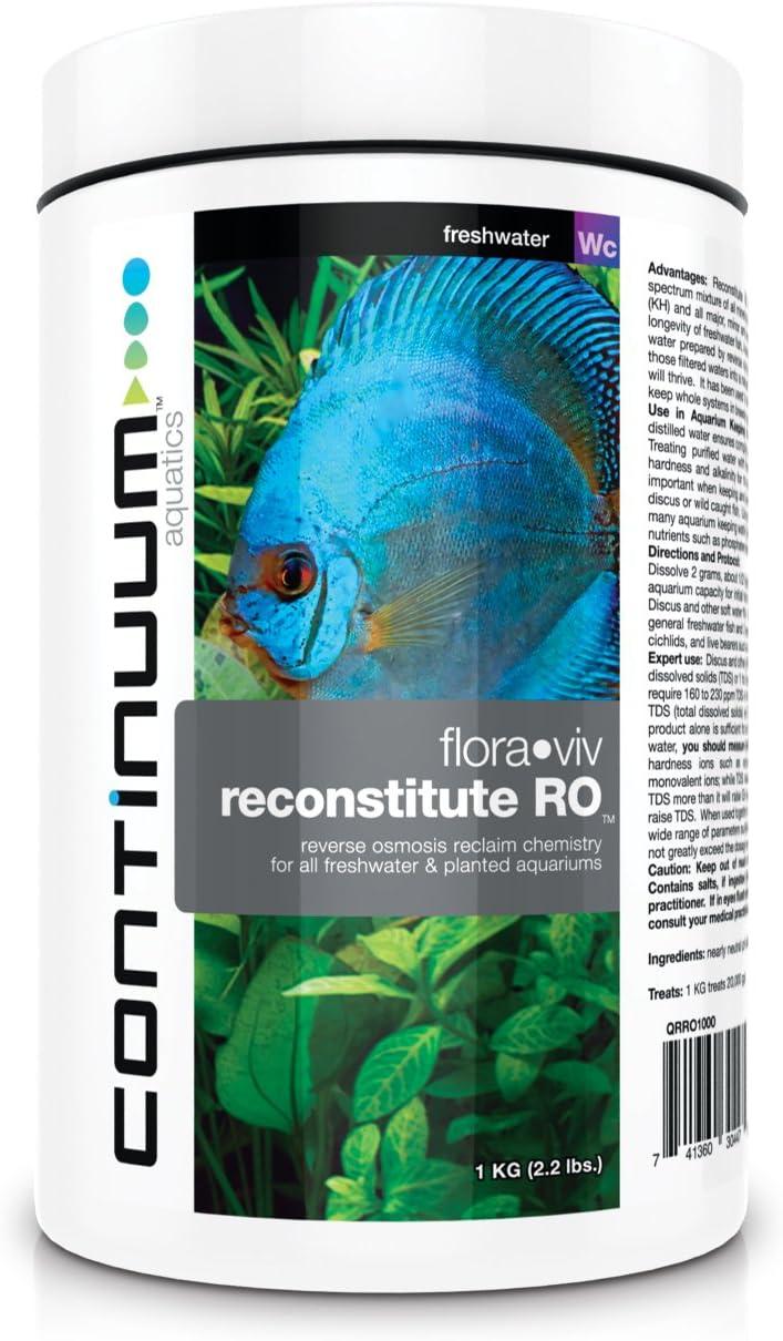 Continuum Challenge the lowest New popularity price of Japan Aquatics Flora Viv Reconstitute RO Mineral Elem –