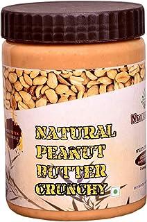 Nature Safe All Natural Peanut Butter (Crunchy) (910g) (Unsweetened, Non-GMO, Gluten Free, Vegan)