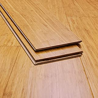 Ambient Bamboo - Bamboo Flooring Sample, Color: XtraWide Casablanca, Engineered Click Lock